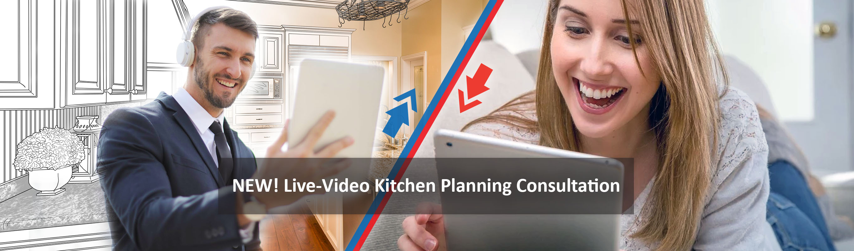 Kitchen Planning - Kitchen Design - Live Video Consultations - Noyeks