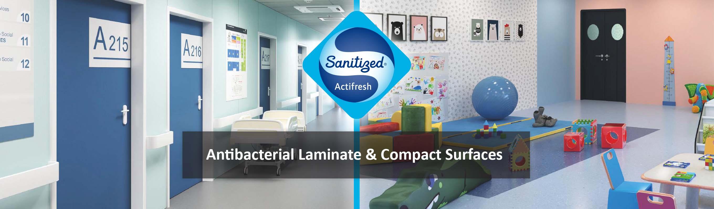 Sanitised Work Surfaces - Antibacterial Laminates - Ireland