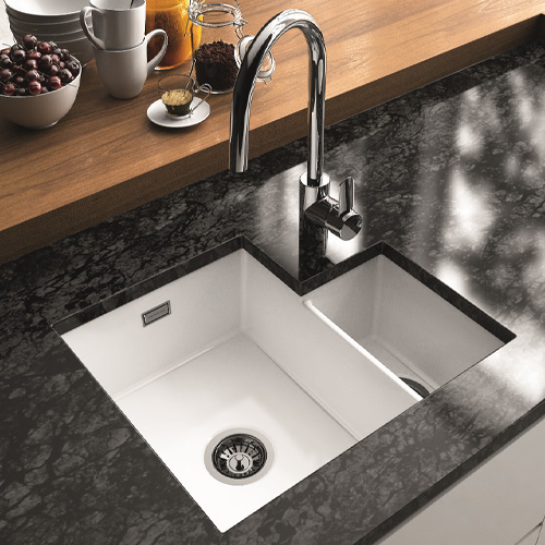 VALET 1.3 BOWL - Undermount Ceramic Sink