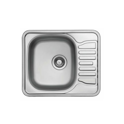 Ultra compact stainless steel sink