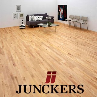 Junckers Solid Wood Flooring - Wooden Floors - Strip and Wide Boards By Noyeks Newmans Ireland