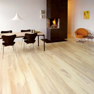 Junckers Solid Wood Flooring - Wide Boards - Noyeks Newmans