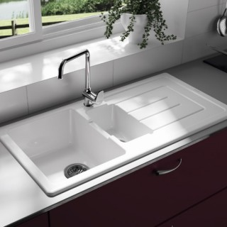 Ceramic Kitchen Sinks - Noyeks Newmans Ireland