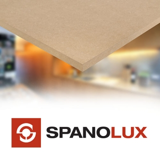 MDF boards and sheets - Fire Retardant - Moisture Resistant - Spanolux - Noyeks Newmans Ireland