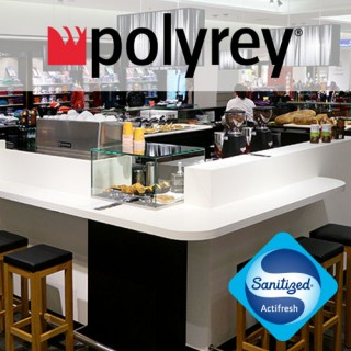 Polyrey HPL & Compact Laminates - Sanitised Surfaces