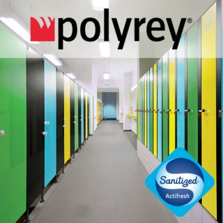 Polyrey Washrooms & Toilet Cubicles - Noyeks Newmans