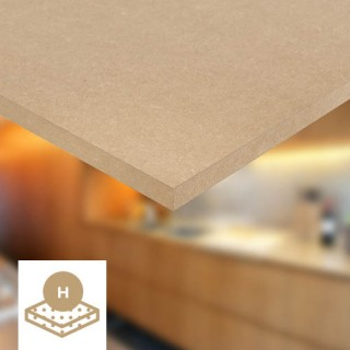 High density MDF sheets - Spanolux - Noyeks Newmans