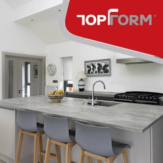 Topform worktops, counter tops for every kitchen.