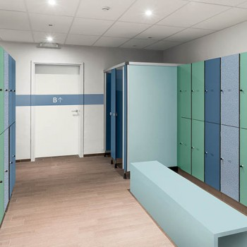 HEALTHCARE - Washrooms & Cubicles