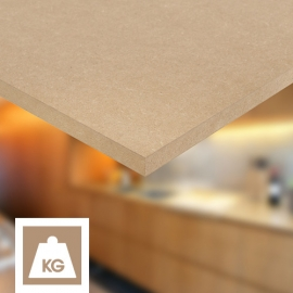 High density MDF panels and sheets