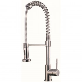 Chrome pull out sink mixer tap