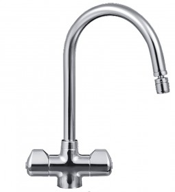 Franke 1/4 turn swivel nozzle chrome tap - Noyeks Newmans