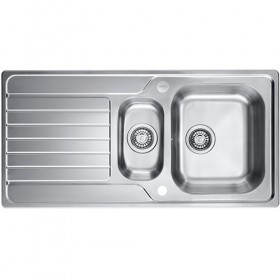 BLANCO ZEST / DINAS 6S 1.5 BOWL - Inset Sink & Waste Kit