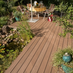 Composite BPC decking - Decks - Noyeks Newmans