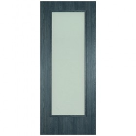 ERKADO - Midnight Grey 1 Opal Lite - Internal Doors - Noyeks Newmans