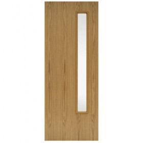 FIRE DOORS - FD60 GC06 Oak Veneered