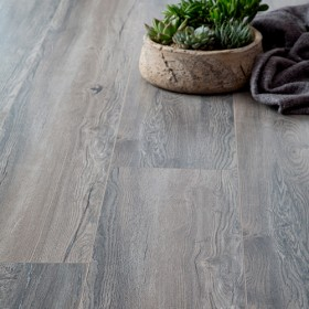 Swisskrono grey laminate flooring
