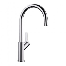 BLANCO CARENA - Single Lever Chrome Tap - Noyeks Newmans