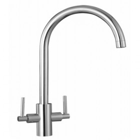 Twin Lever Chrome Tap - Noyeks Newmans