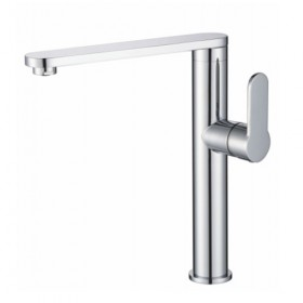Modern Side Lever Chrome Tap - Noyeks Newmans Ireland