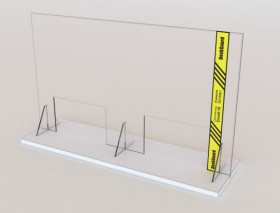 Desk - Counter - Protective Screens