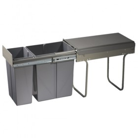 Kitchen pull out waste bin