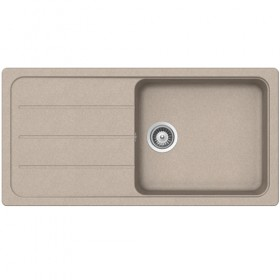 SCHOCK SINGLE BOWL - Sandstone Composite Sink