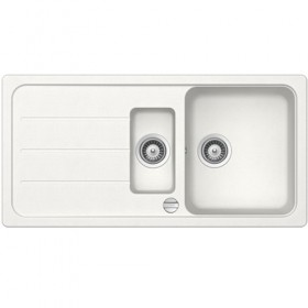 SCHOCK 1.5 BOWL - White Composite Sink