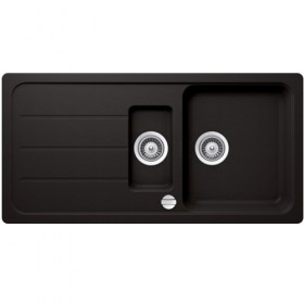 SCHOCK 1.5 BOWL - Black Composite Sink