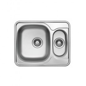 Ultra compact stainless steel kitchen sink