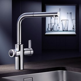 BLANCO EVOL-S VOLUME - Chrome Water Tap - Noyeks Newmans