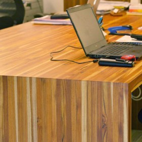 SOLID WOOD WORKTOP - Teak - Noyeks Newmans Ireland