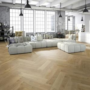 Engineered wood flooring herringbone oak